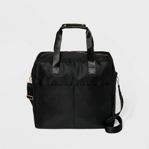 Square Weekender Bag - A New Day™ Black - image 1 of 3