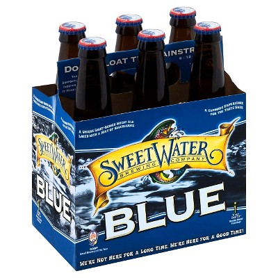 SweetWater Blue Ale Beer - 6pk/12 fl oz Cans