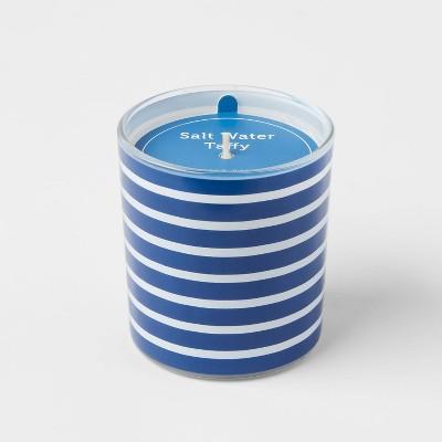 5.5oz Americana Glass Jar Salt Water Taffy Candle - Sun Squad™
