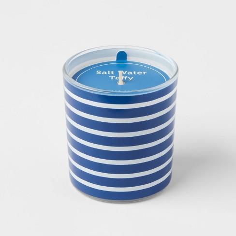 5.5oz Americana Glass Jar Salt Water Taffy Candle - Sun Squad™ - image 1 of 3