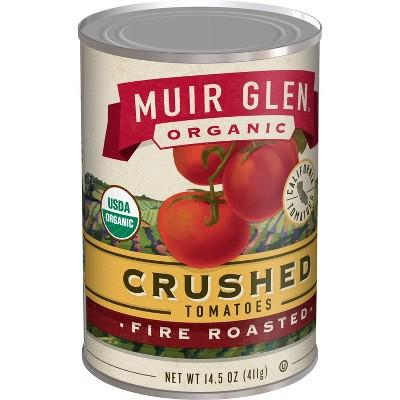 Muir Glen Organic Gluten Free Crushed Fire Roasted Tomatoes - 14.5oz