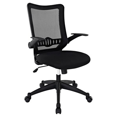 Office Chair Midnight Black - Modway