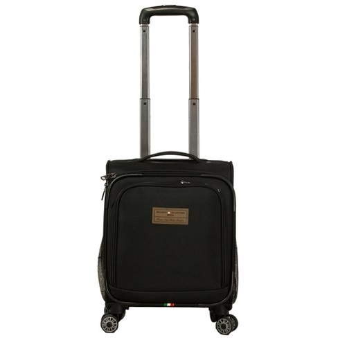 Villagio Personal Underseat Carry On Suitcase - Black - image 1 of 4