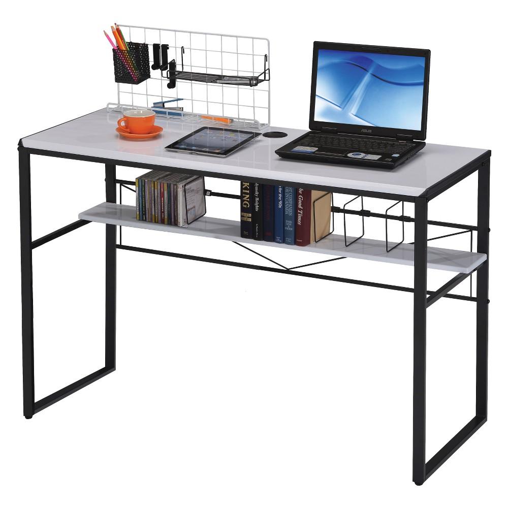 Computer Desk Acme Furniture White Black