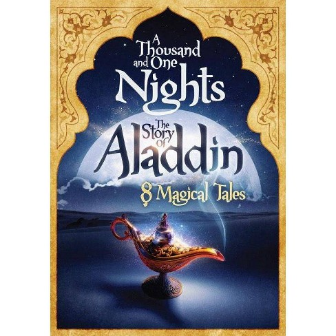 1001 Nights The Story Of Aladdin 8 Magical Tales Dvd Target