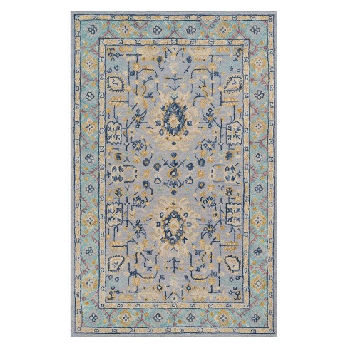 Tangier Ludlow Fl Tufted Accent Rug Momeni