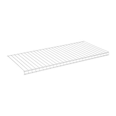 Rubbermaid FG3H9100WHT Configurations Sturdy Lightweight Accessories 26-Inch Shelving Kit, White