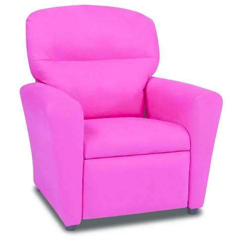 Tween Recliner Passion Pink Passion Pink Kangaroo Trading Co
