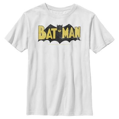 Boy's Batman Logo Vintage T-Shirt