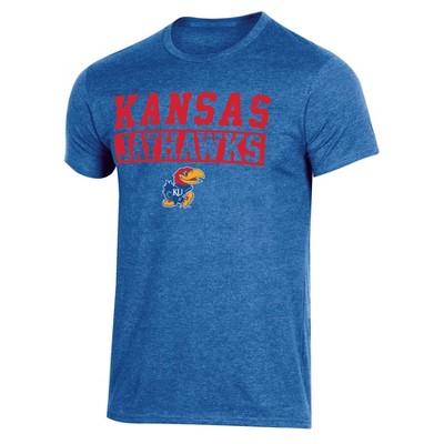 NCAA Kansas Jayhawks Men's Short Sleeve Crew Neck T-Shirt
