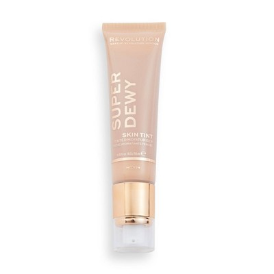 Makeup Revolution Superdewy Tinted Moisturizer - Medium Light - 0.85 fl oz