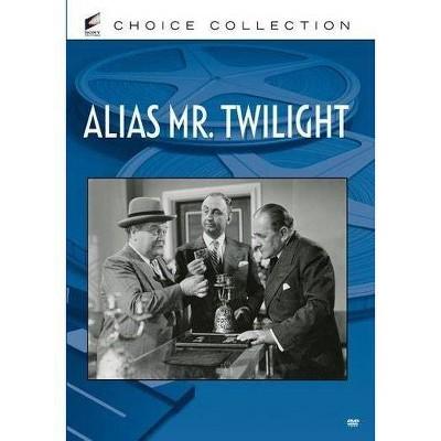 Alias Mr. Twilight (DVD)(2013)