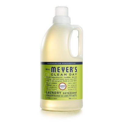 Mrs. Meyer's Lemon Verbena Scented Laundry Detergent - 64 fl oz