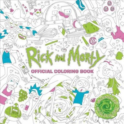 Rick and Morty Official Coloring Book - (Paperback)
