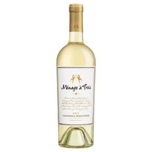 Mnage  Trois White Blend Wine - 750ml Bottle - image 1 of 1