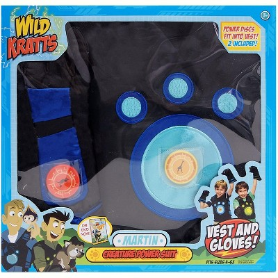 Jazwares Wild Kratts Creature Power Suit - Martin, 4-6x
