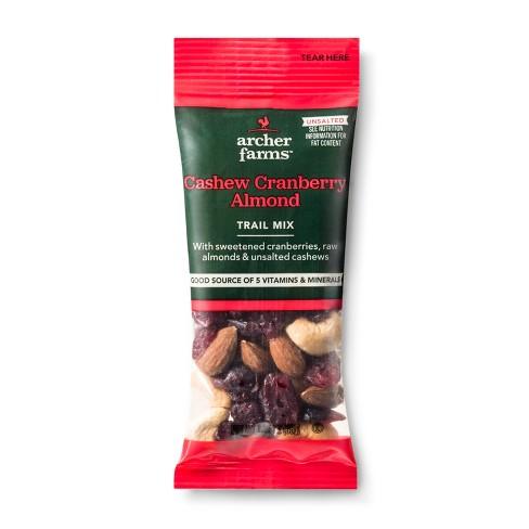 Cashew Cranberry Almond Trail Mix - 1.25oz - Archer Farms™ - image 1 of 1