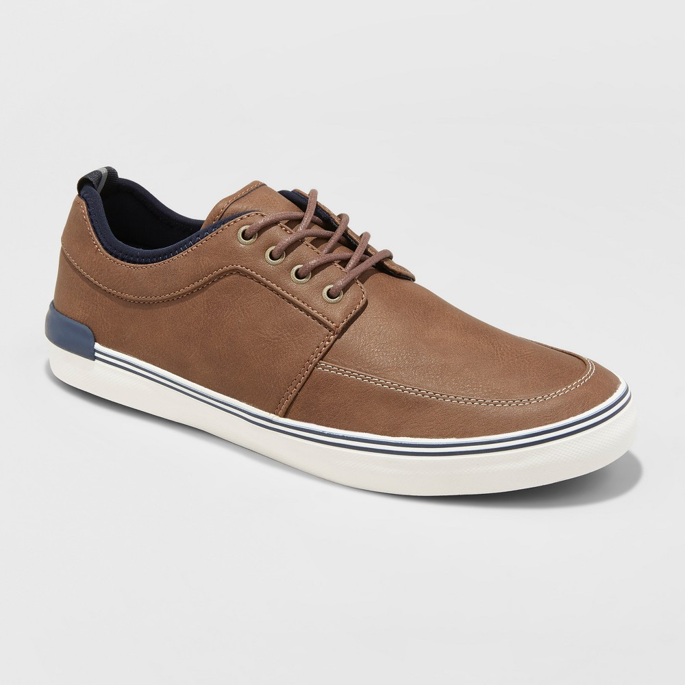 Men's Bernie Casual Boat Shoes - Goodfellow & Co Brown 15