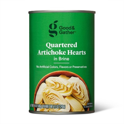 Quartered Artichoke Hearts - 14oz - Good & Gather™
