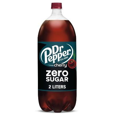 Dr Pepper Zero Sugar Cherry - 2 Liter Bottle