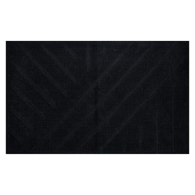 Geo Stripe Bath Mat (20 X34 )Black - Project 62™ + Nate Berkus™