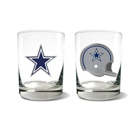 NFL Dallas Cowboys Rocks Glass Set - 2pc - image 1 of 1