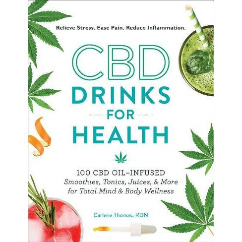 CBD Drinks for Health - by  Carlene Thomas (Hardcover) - image 1 of 1