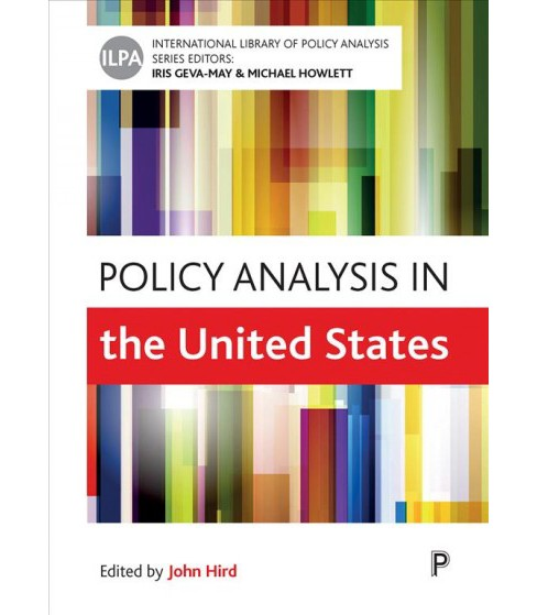 Policy Analysis in the United States -  (Paperback) - image 1 of 1