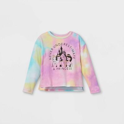Girls' Disney Royally Fierce Princesses Pullover Sweatshirt