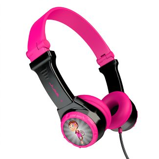 JLab JBuddies Wired Folding Kids Headphones - Pink (JK2-PNKRTL)