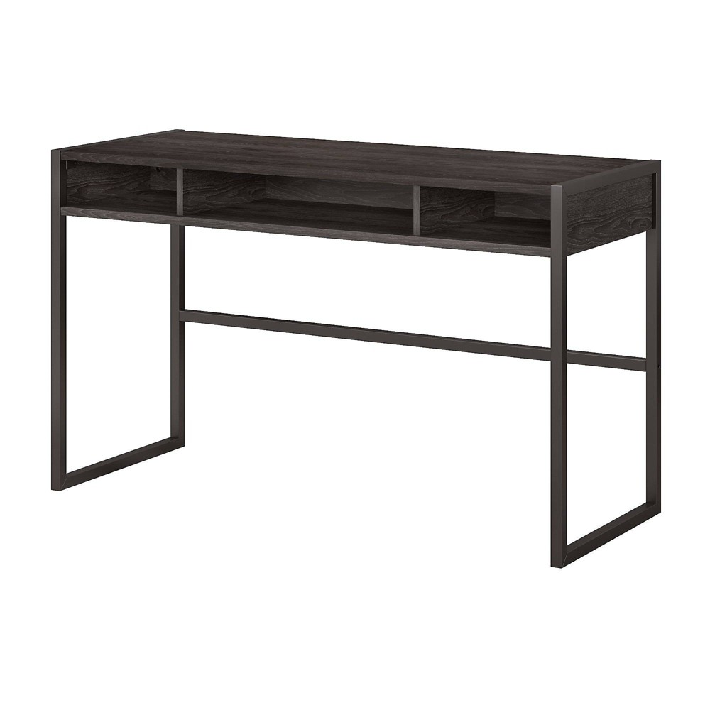"Image of ""Atria 50""""W x 20""""D Desk Return Charcoal Gray - Kathy Ireland Office"""