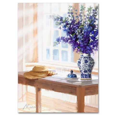 Willow Pattern By The Macneil Studio Ready To Hang Canvas Wall Art