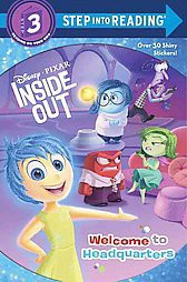 Inside Out ( Disney Pixar Inside Out: Step Into Reading, Level 3) (Paperback) by Apple Jordan