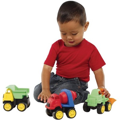 International Playthings Little Tuffies Construction Vehicle