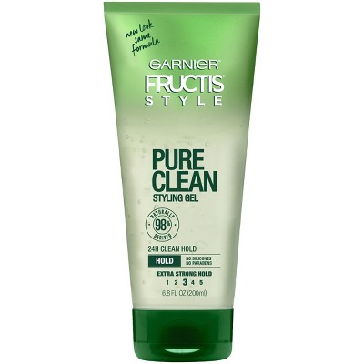 Hair Styling: Garnier Fructis Pure Clean Styling Gel