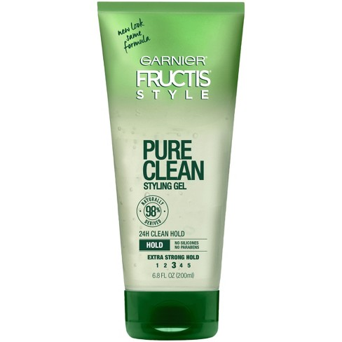 Garnier Fructis Style Pure Clean Extra Strong Hold Styling Gel - 6.8 fl oz - image 1 of 4