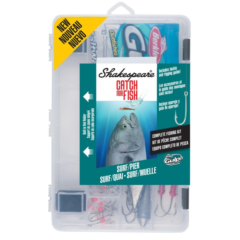 Image of Shakespeare Tackle Kit - Surf Pier, Green