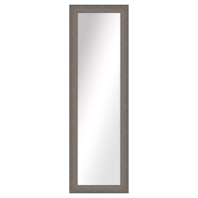 Floor Mirror PTM Images Pewter