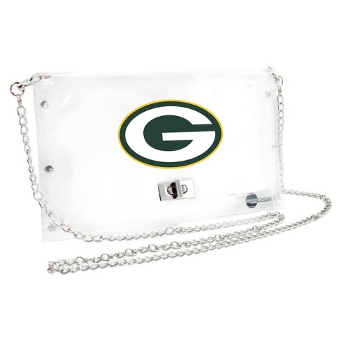 NFL Green Bay Packers Clear Envelope Purse - image 1 of 1