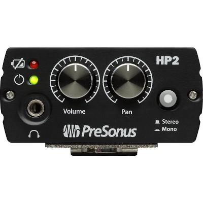 PreSonus HP2 2-Channel Battery-Powered Personal Headphone Amplifier