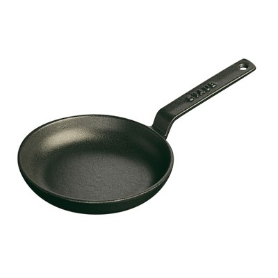 Staub Cast Iron 4.75-inch Mini Frying Pan - Matte Black