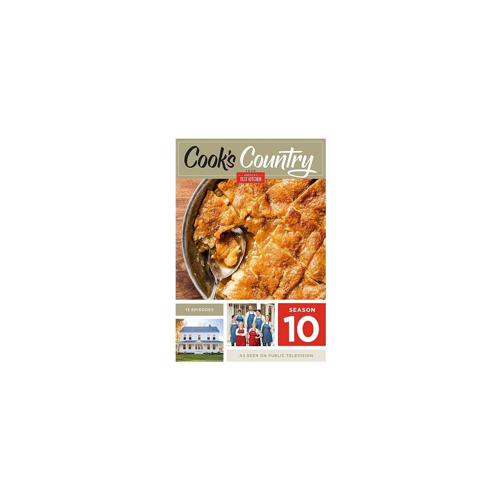 Cook's Country:Season 10 (Dvd)