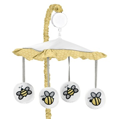 Sweet Jojo Designs Honey Bee Musical Mobile - Yellow