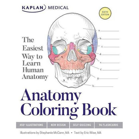 Anatomy Coloring Book - 6 Edition By Stephanie McCann & Eric Wise ...