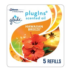 Glade Hawaiian Breeze PlugIns Refill - 5ct