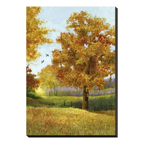 Autumn Tree Stretched Canvas Print 19x27 - Art.com - image 1 of 2