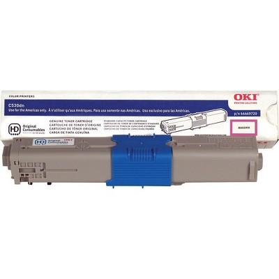 OKI 44469720 Toner Cartridge, 5K Yield, Magenta
