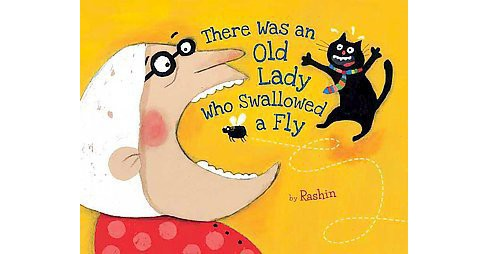 There Was An Old Lady Who Swallowed A Fly Hardcover Target