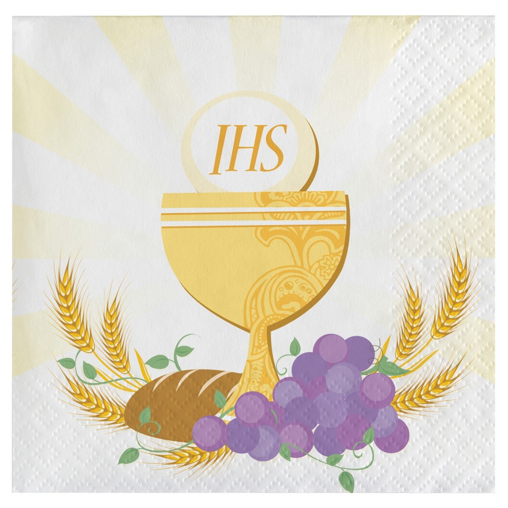 16ct Rise Above Communion Cocktail Beverage Napkins