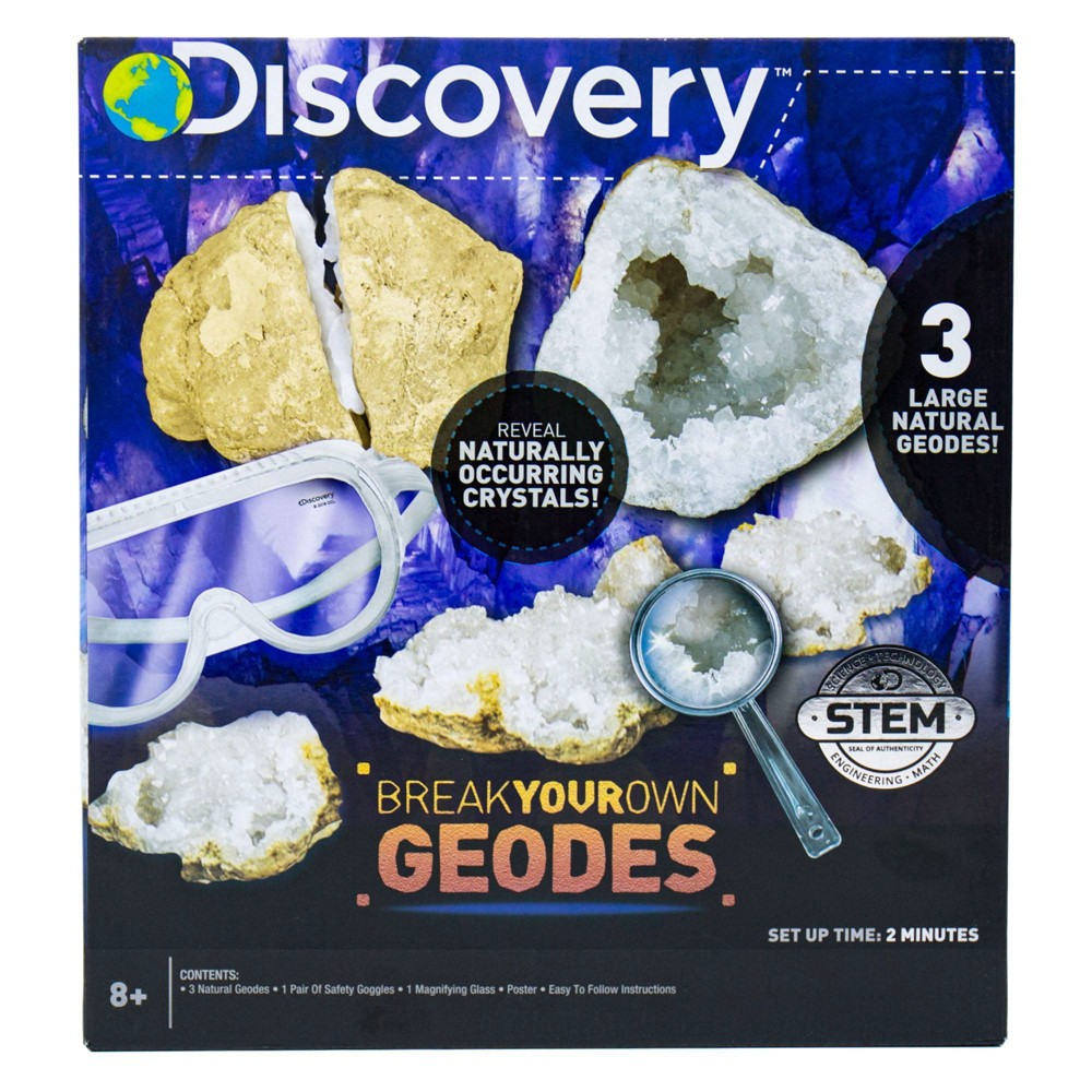 Image of Discovery Kids Break Your Own Geodes Activity Kit